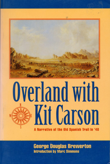 Overland with Kit Carson book