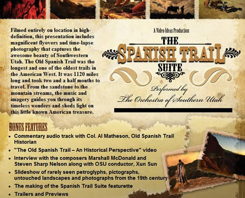 Spanish Trail Suite DVD