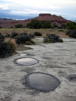 potholes near Green River